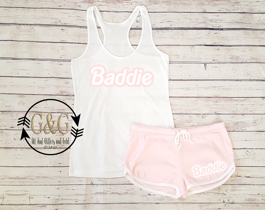 Cute Baddie Summer Shorts Outfit Set For Juniors and Women