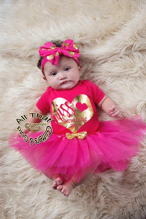 Tutu Skirts For Baby Girls And Little With Gold Bow