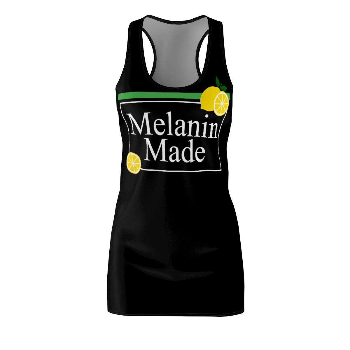 Melanin Made Tank Mini Dress For Teens and Women