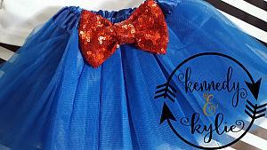 Cute Harley Quinn Birthday Tutu Costume For Baby Girls and Little Girls