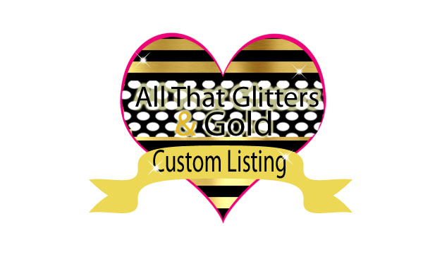 Custom Order For Alina