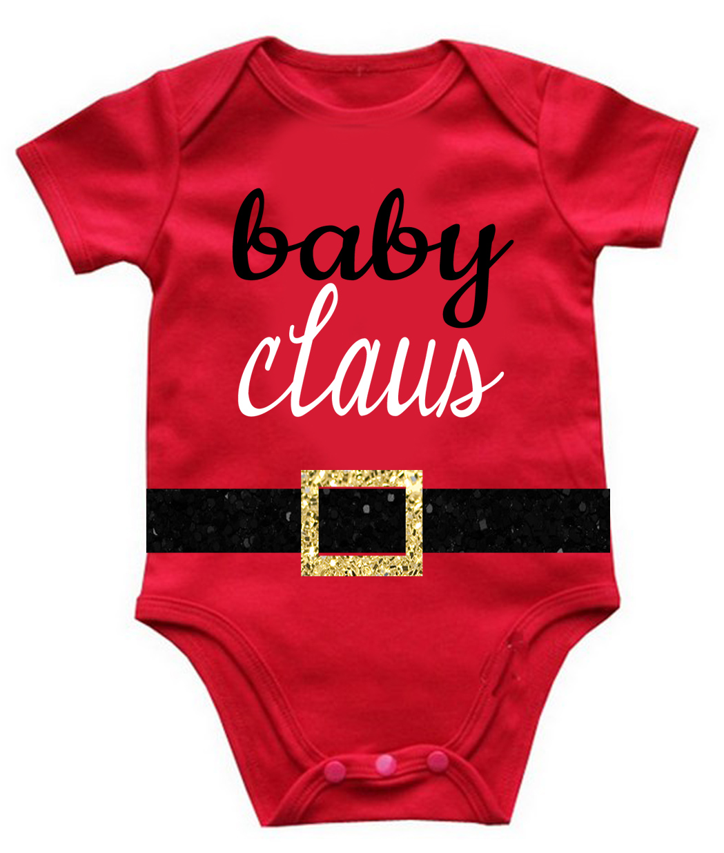 Baby Claus First Christmas Baby Bodysuit