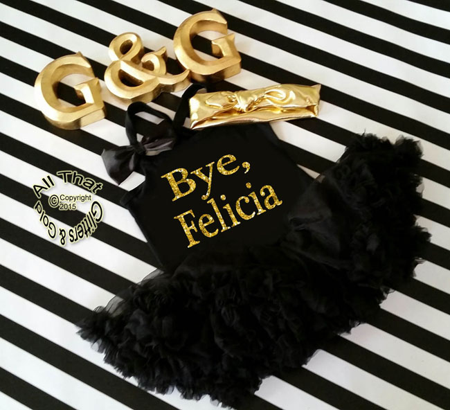 Glitter and Sparkly Bye Felicia Tutu Dresses For Little Girls