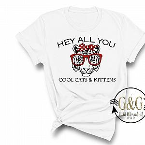 Hey All You Cool Cats and Kittens Shirts For Women