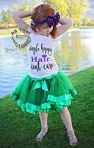 Dingle Hopper Hair Dont Care Baby Girls and Little Girls Shirt