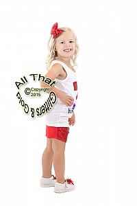 Red and Purple Mermaid Glitter 3rd Birthday Sequin Shorts Outfits