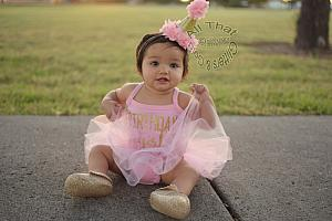 Cute Glitter Birthday Girl Tutu Dresses For Baby Girls First Birthday