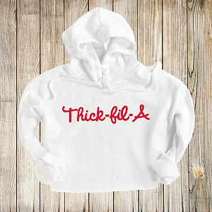 Thick-Fil-A Cropped Hoodie