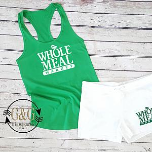 Whole Meal Summer Shorts Outfit Set For Juniors and Women